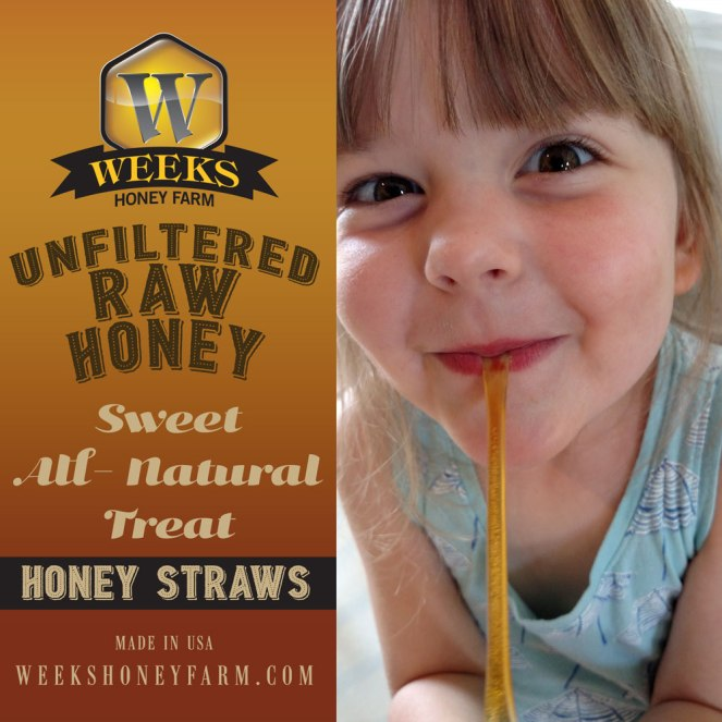 Feature-Model-Honey-Straws
